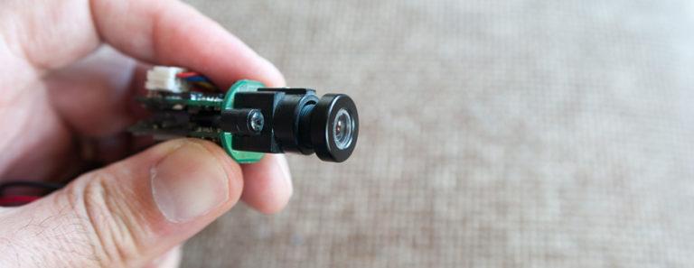 Telecamera-minuaturizzata