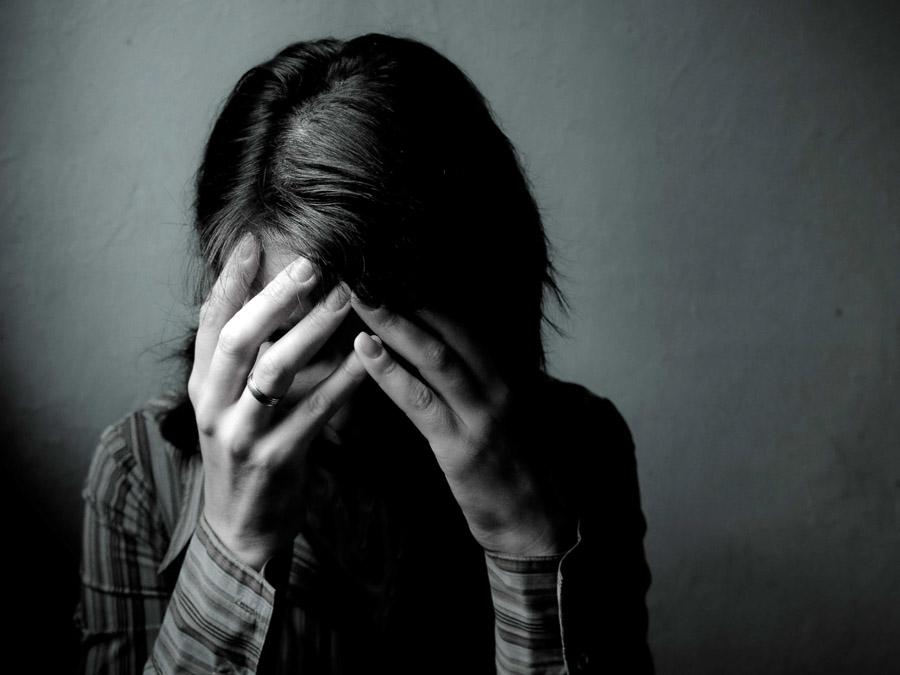 paura per una donna