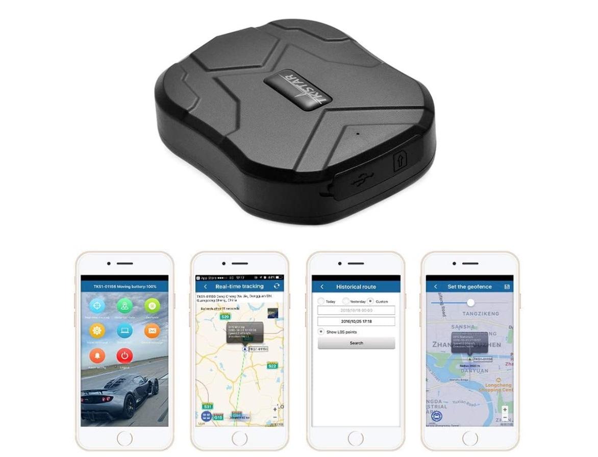 Tracker GPS della Tkstar