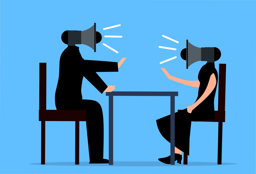 Discussione tra socio o collaboratore